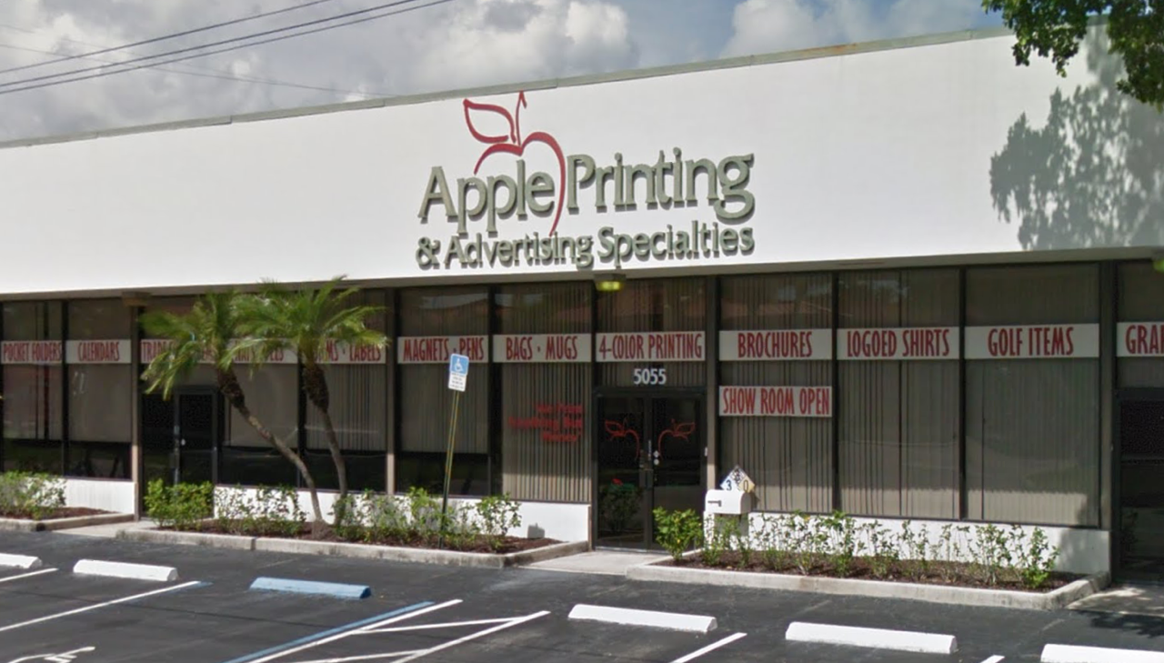 Apple Printing and Advertising Specialties Ft. Lauderdale